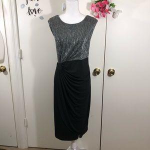 ENFOCUS WOMEN WRAP LOOK COCKTAIL DRESS 18W